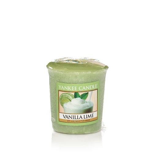 Yankee Candle «Vanille Citron Vert» Bougie Parfumée Votive