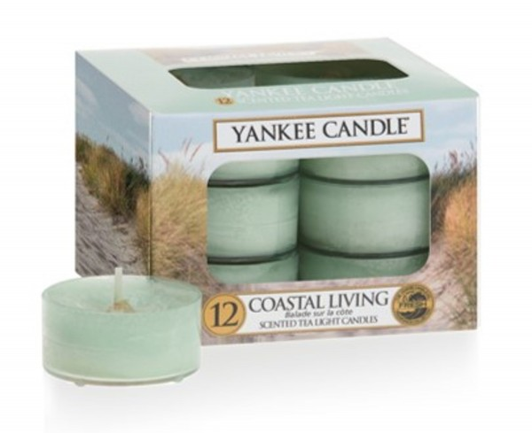 Yankee Candle Teelichter «Coastal Living» 12 Stück