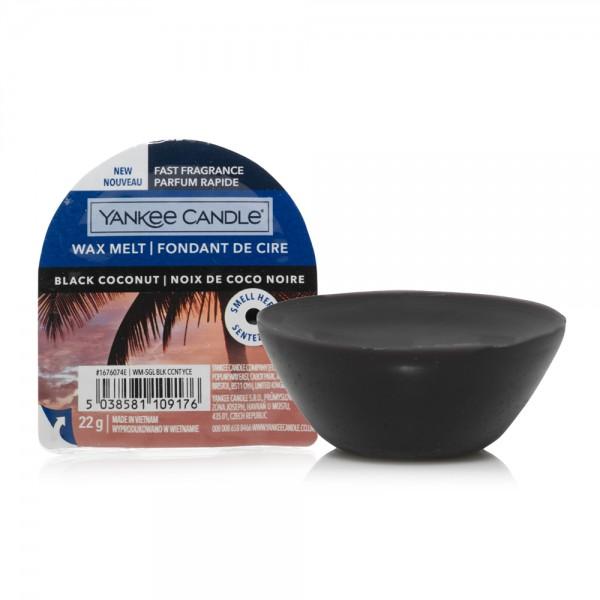 Yankee Candle «Noix de Coco Noire» Tartelette