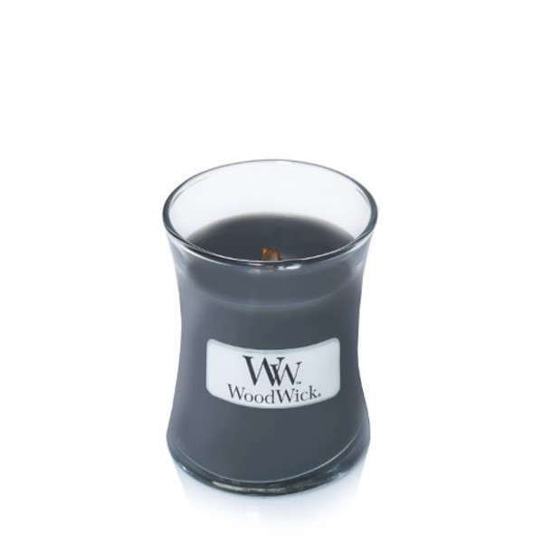 WoodWick Duftkerze «Evening Bonfire» mini