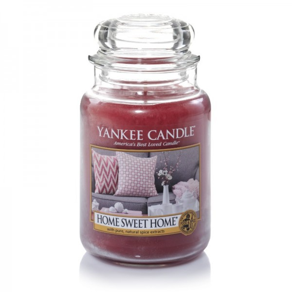 Yankee Candle Duftkerze «Home Sweet Home» gross (large Jar 623g)