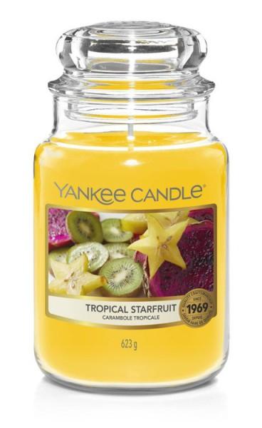 Yankee Candle «Carambole Tropicale» Bougie Parfumée grande