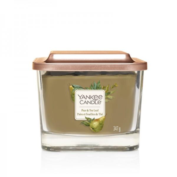 Yankee Candle Duftkerze Elevation  «Pear & Tea Leaf» mittel (medium 347g)