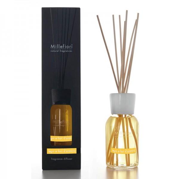 Millefiori Natural «Legni e Fiori d'Arancio» Parfum d'ambiance 500ml