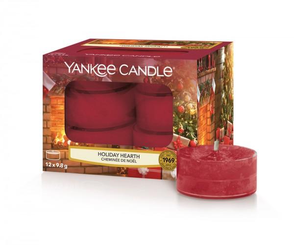 Yankee Candle «Cheminée de Noël» Bougie Parfumée Lumignons