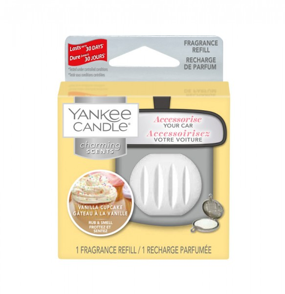 Yankee Candle Autoduft «Vanilla Cupcake» Charming Scents, Refill