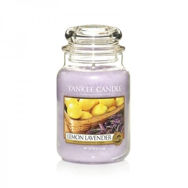 Yankee Candle Duftkerze «Lemon Lavender»gross (large Jar 623g)