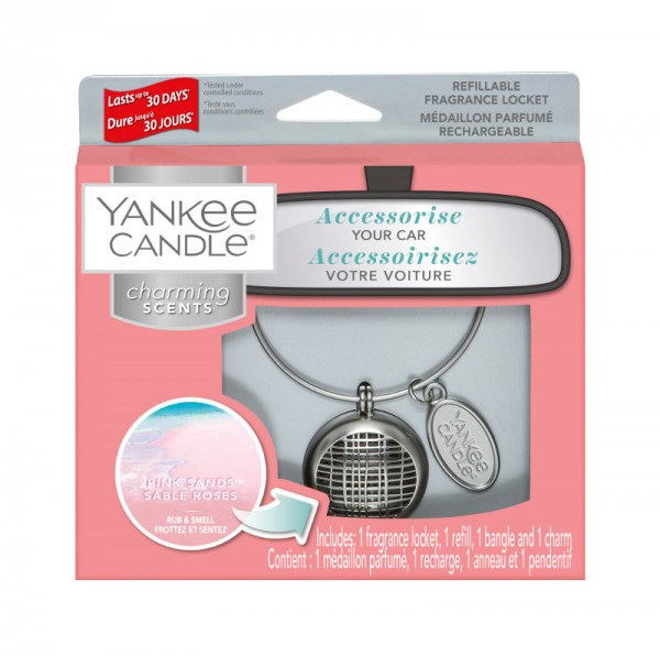 Yankee Candle Autoduft «Pink Sands Linear» Charming Scents, Starter Kit