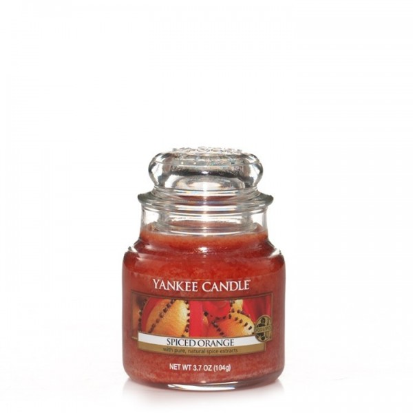 Yankee Candle Duftkerze «Spiced Orange» klein (small Jar 104g)