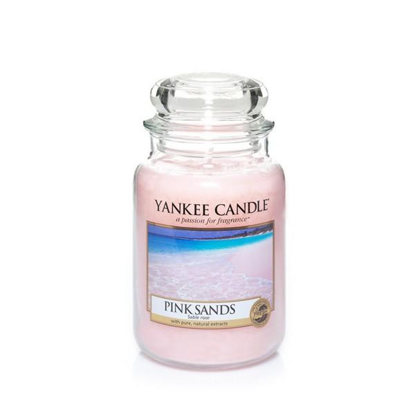 Yankee Candle Duftkerze «Pink Sands» gross (large Jar 623g)