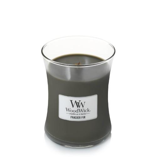 WoodWick «Frasier Fir» Bougie Parfumée moyenne