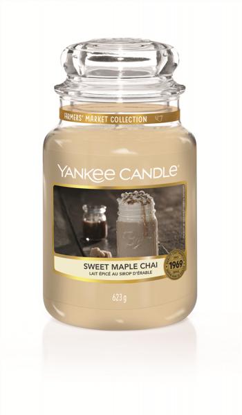 Yankee Candle Duftkerze «Sweet Maple Chai» gross