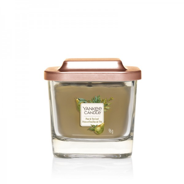 Yankee Candle Duftkerze Elevation  «Pear & Tea Leaf» klein (small 96g)