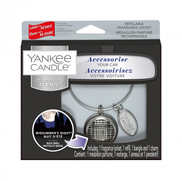 Yankee Candle Autoduft «Midsummer's Night Linear» Charming Scents, Starter Kit