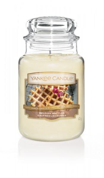 Yankee Candle Duftkerze «Belgian Waffles» gross (large Jar 623g)