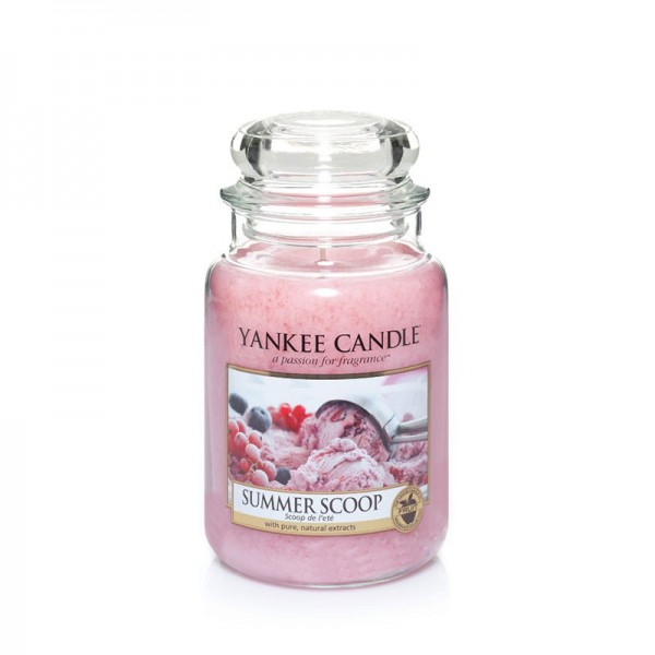 Yankee Candle Duftkerze «Summer Scoop» gross (large Jar 623g)