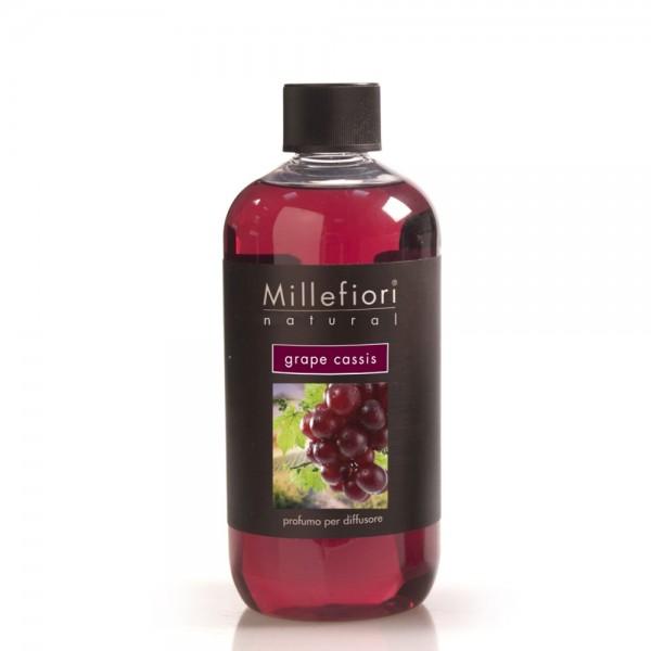 Millefiori Refill «Grape Cassis» Parfum d'ambiance 500ml