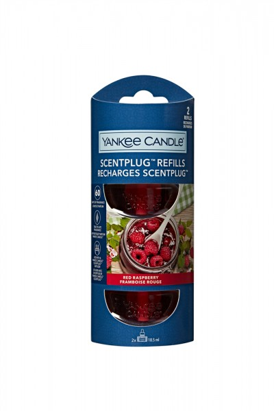 Yankee Candle ScentPlug «Framboise rouge» Refill 2x18.5ml