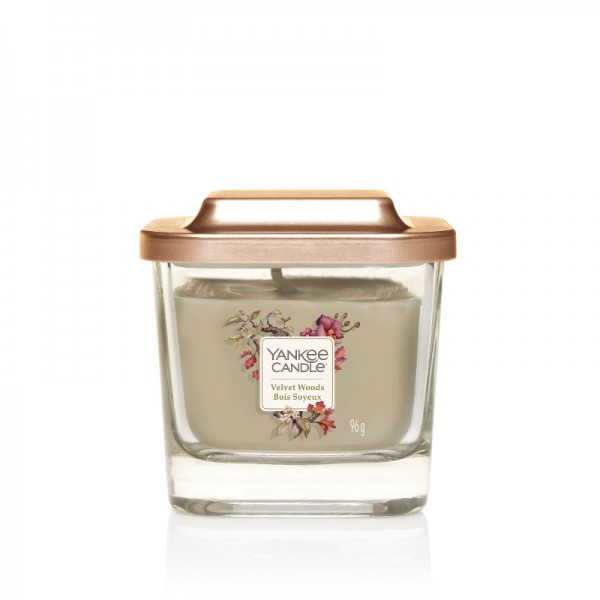 Yankee Candle Duftkerze Elevation  «Velvet Woods» klein (small 96g)