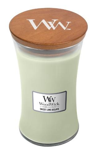 WoodWick Duftkerze «Sweet Lime Gelato» gross