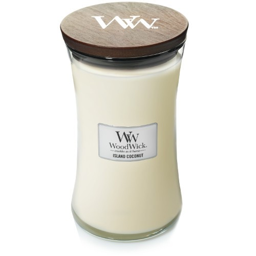 WoodWick Duftkerze «Island Coconut» gross