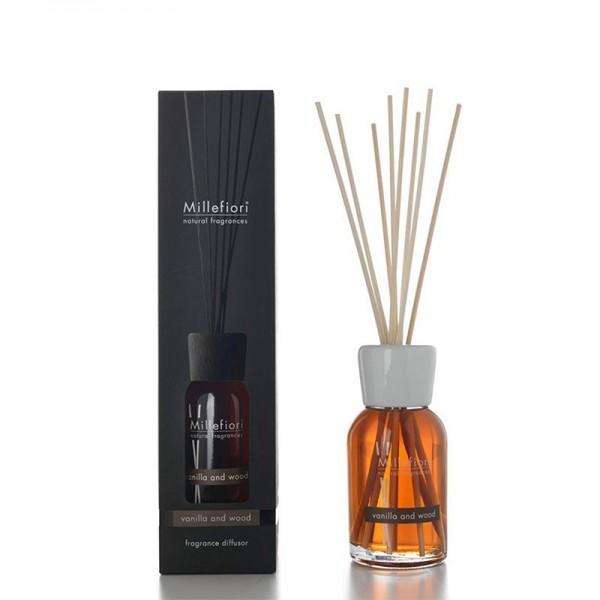 Millefiori Natural «Vanilla & Wood» Parfum d'ambiance 250ml