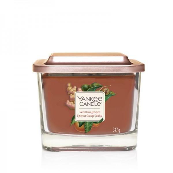 Yankee Candle Duftkerze Elevation  «Sweet Orange Spice» mittel (medium 347g)