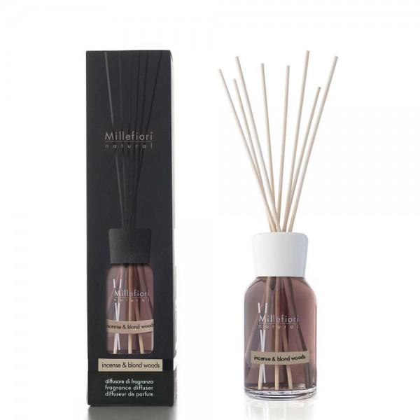 Millefiori Raumduft «Incense & Blond Woods» 500ml