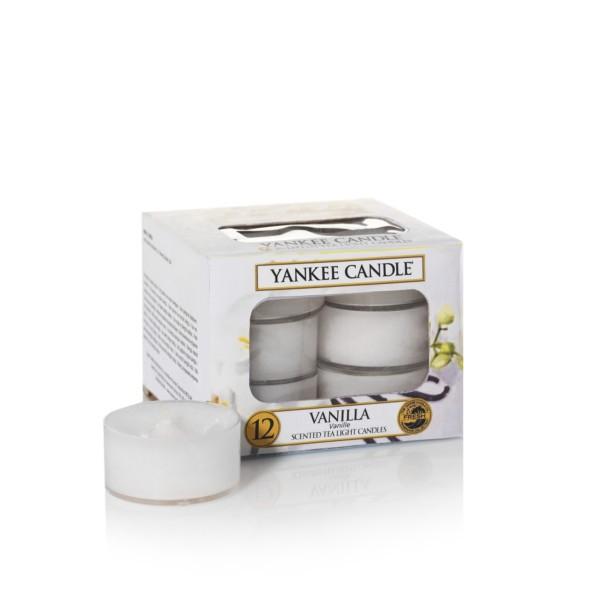 Yankee Candle Teelichter «Vanilla» 12 Stück