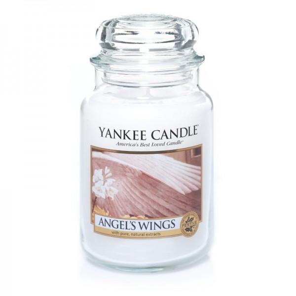 Yankee Candle Duftkerze «Angel's Wings» gross (large Jar 623g)