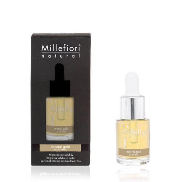 Millefiori Raumduft «Mineral Gold» 15 ml wasserlöslich