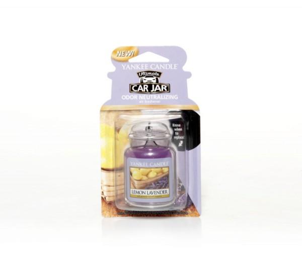 Yankee Candle Car Jar Ultimate «Citron & Lavande» Parfum pour voiture