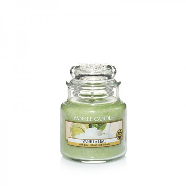 Yankee Candle «Vanilla Lime» Bougie Parfumée Petite Jarre (small Jar 104g)