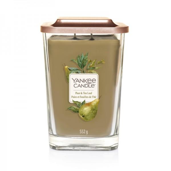 Yankee Candle Duftkerze Elevation  «Pear & Tea Leaf» gross (large 552g)