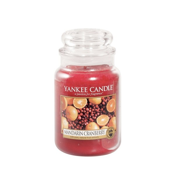 Yankee Candle Duftkerze «Mandarin Cranberry» gross (large Jar 623g)