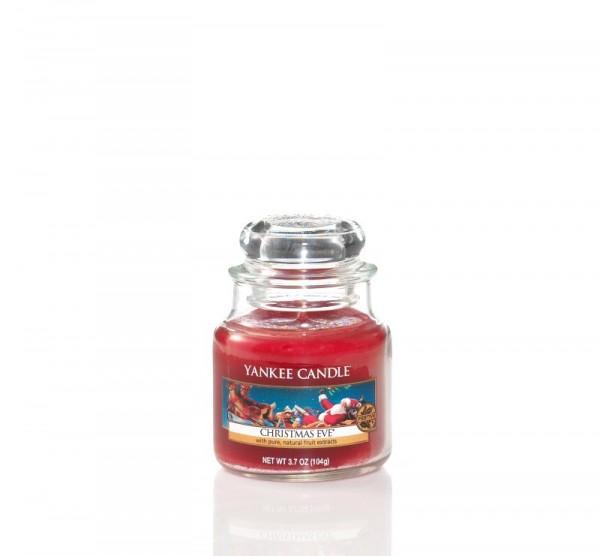 Yankee Candle Duftkerze «Christmas Eve» klein (small Jar 104g)