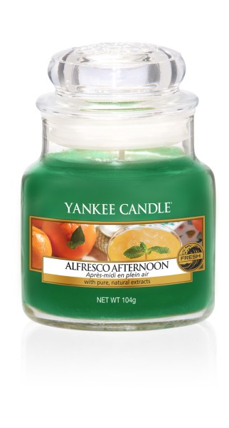 Yankee Candle Duftkerze «Alfresco Afternoon» klein