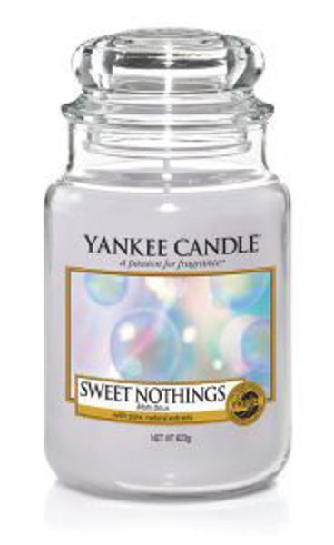 Yankee Candle Duftkerze «Sweet Nothings» gross (large Jar 623g)