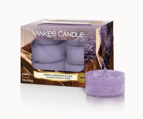 Yankee Candle Duftkerze «Dried Lavender & Oak » Teelicht