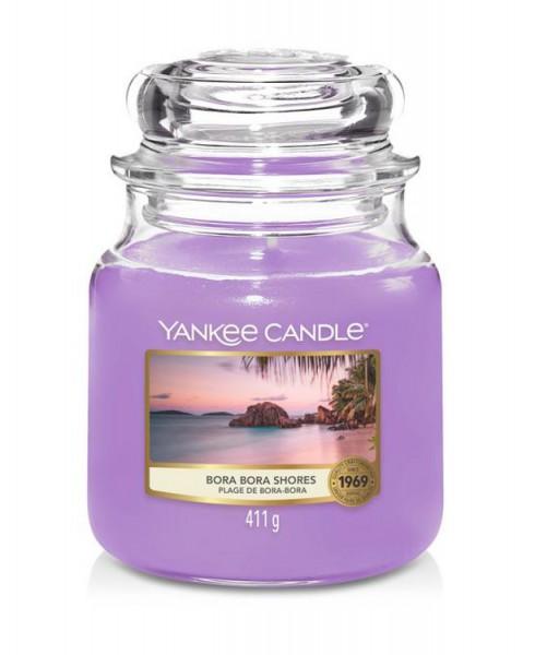 Yankee Candle Duftkerze «Bora Bora Shores» mittel