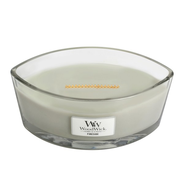 WoodWick Duftkerze «Fireside» Ellipse