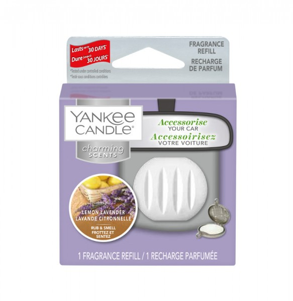 Yankee Candle Autoduft «Lemon Lavender» Charming Scents, Refill
