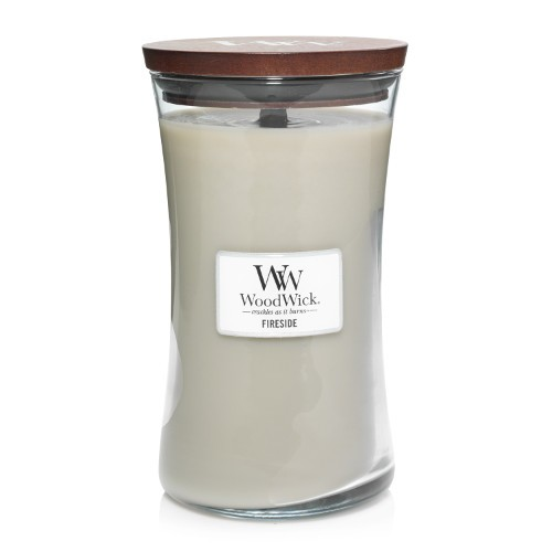 WoodWick Duftkerze «Fireside» gross