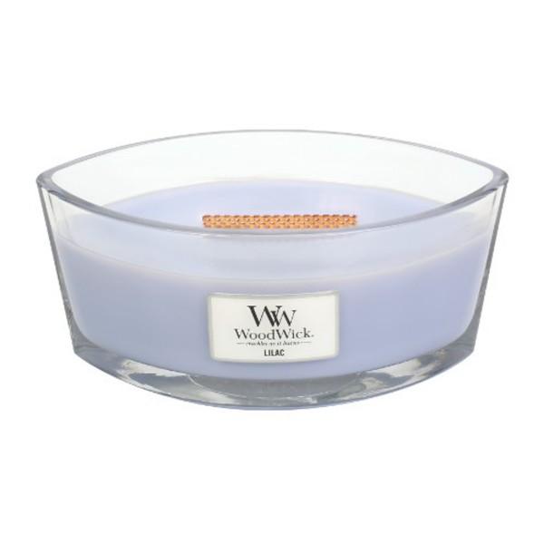 WoodWick Duftkerze «Lilac» Ellipse