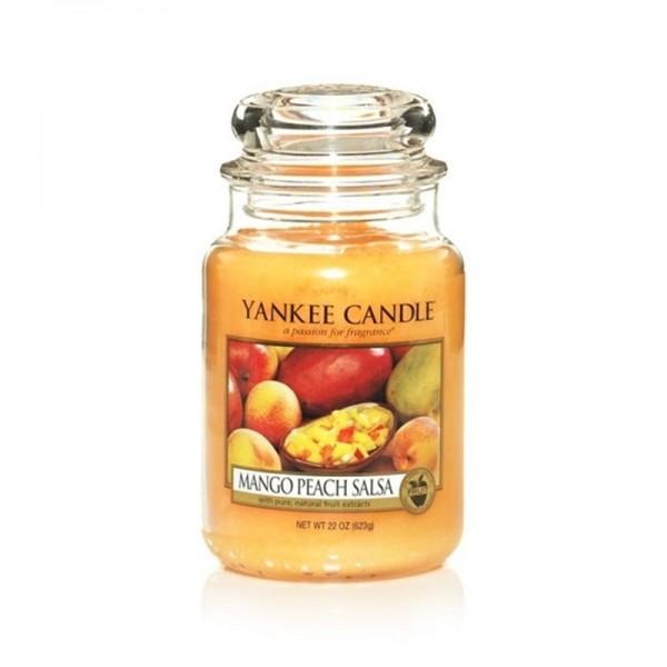 Yankee Candle Duftkerze «Mango Peach Salsa» gross (large Jar 623g)