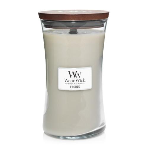 WoodWick «Au coin du feu» Bougie Parfumée grande