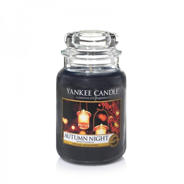 Yankee Candle Duftkerze «Autumn Night» gross (large Jar 623g)