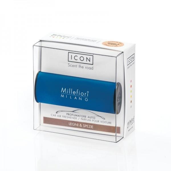 Millefiori Autoduft ICON Classic «Legni & Spezie» Blau