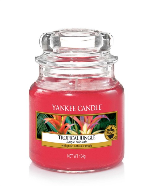 Yankee Candle Duftkerze «Tropical Jungle» klein (small Jar 104g)