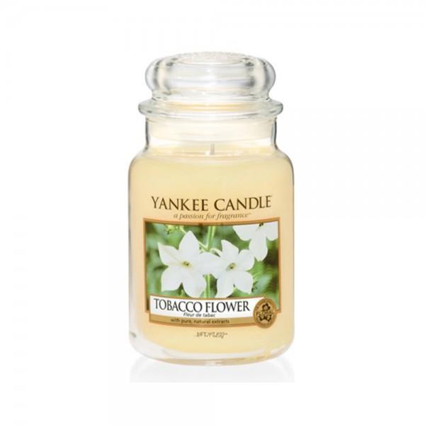 Yankee Candle Duftkerze «Tobacco Flower» gross (large Jar 623g)